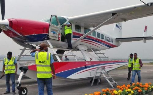 Endelig nytt sjøfly i Bangladesh
